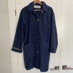 NINA RICCI/M/Blue /Mid -Length /Light Coat/